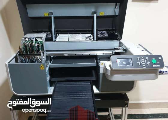 للبيع فى ابو ظبى ماكينة طباعه بالكمبيوتر أمريكى الصنع بكامل ملحقاتها