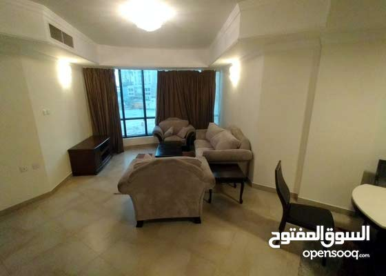للايجار شقة من غرفتين + فرش كامل + مسبح + شامل!
