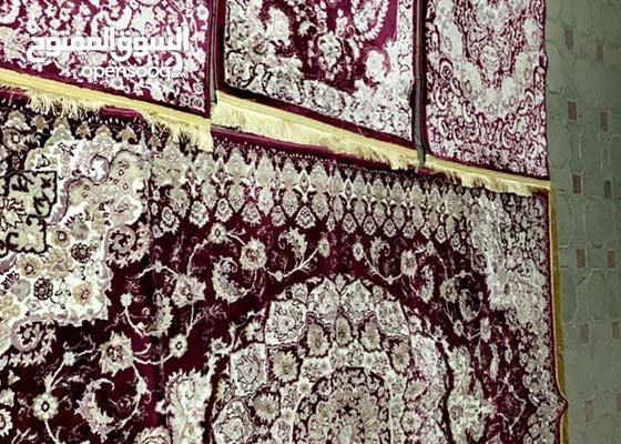 للبيع سجاده طقم اربع carpet set for sale