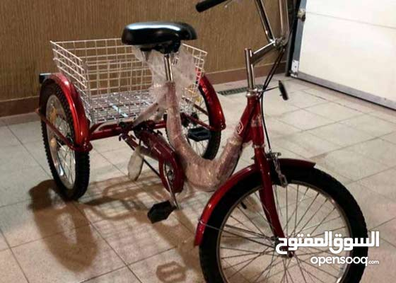 مطلوب دراجه هوائيه 3 عجلات للكبار