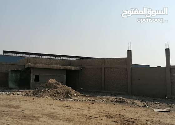 قطعة ارض بالقاهرة تصلح للمصانع مرخصة للبيع المباشر