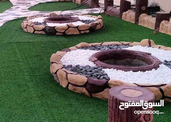 تنسيق حدائق وديكور