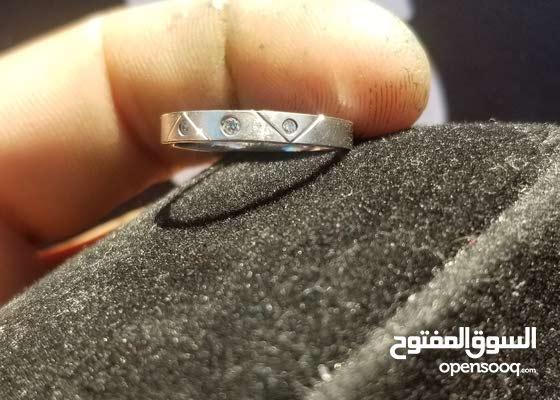 خاتم الماس بلاتينيوم