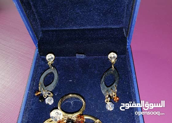 Swarovski assorted earrings and ring