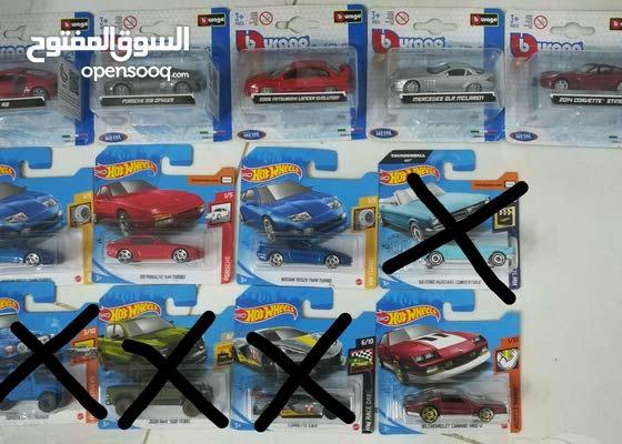 Hot wheels and Burago cars brand new