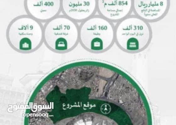 عمارة للبيع بمكة بمنطقة مشاريع قريبه من الحرم