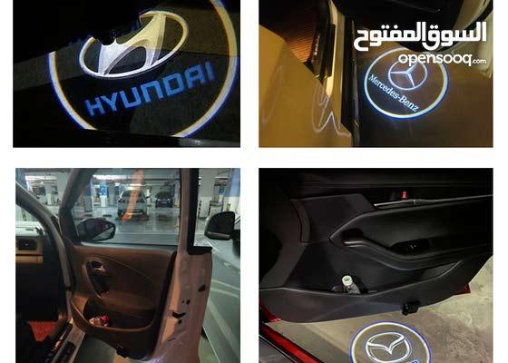 Cars projector leser door logo