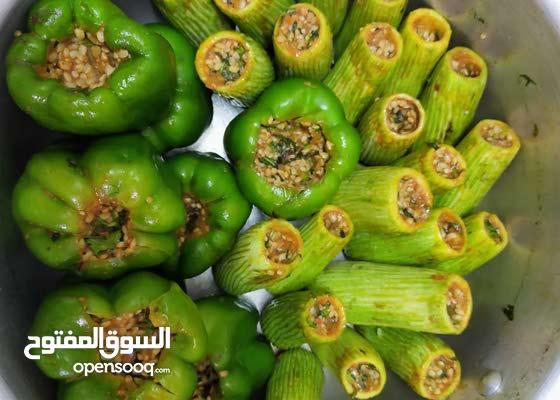 بفضل الله نقوم بتجهيز جميع انواع المحاشى والاكلات المصرية