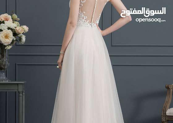 فستان سهرة او زفاف قياس سمول لون اوف وايت