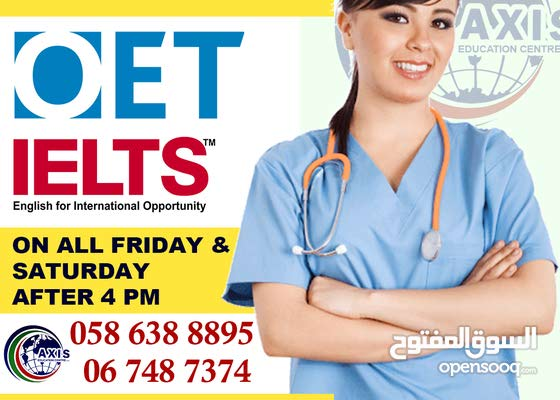 OET / IELTS for unlimited Duration Training-All Friday & Saturday Free Orientation class