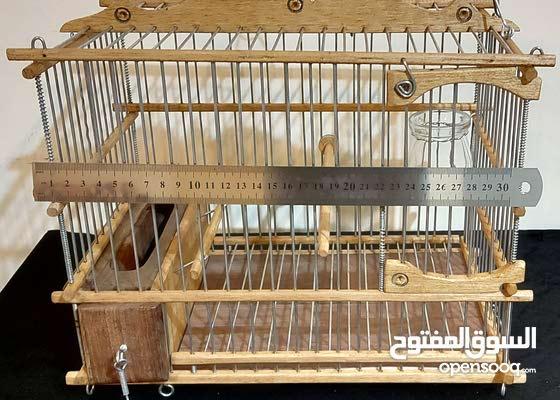 اقفاص الحسون الخشبية صنع في المغرب