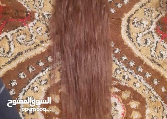 شعر طبيبيعي دبل فيس