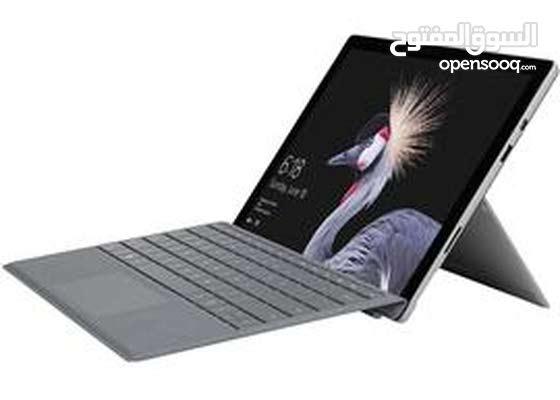 مايكروسوفت سيرفيس برو i7  8g ram 256g Microsoft surface pro 5