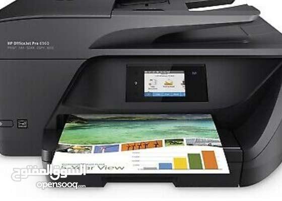 6960 hp printer طابعه