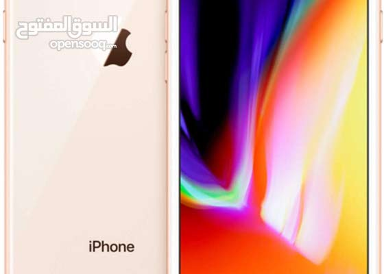 Iphone 8 rose gold/black 64 gb neat and clean for sale