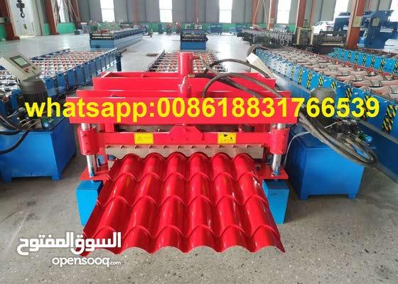 ماكينة تشكيل قرميد معدني صنع في الصين مناسب قطر