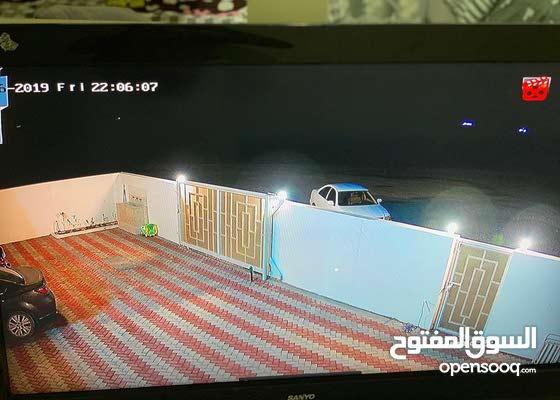 كاميرات مراقبة صوت وصورة، جودة عالية جداً ،شركة مجان للأمان