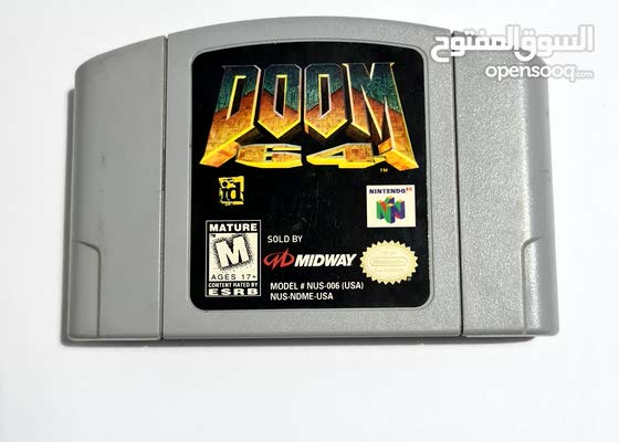 Doom 64 cartridge for nintendo 64