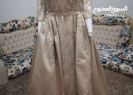 فستان حفلة عرايسي قطعتين