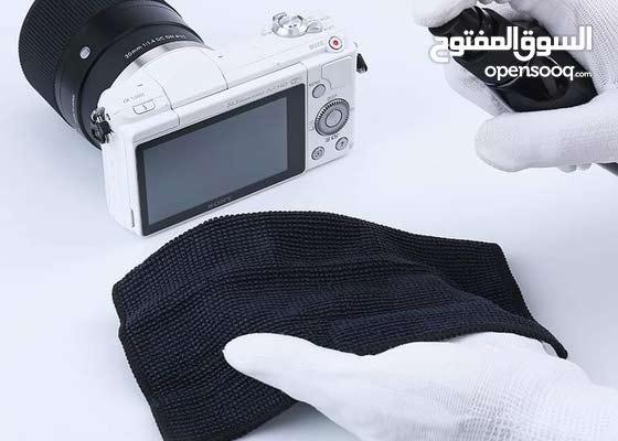 طقم تنظيف لابتوب + عدسة كاميرا DTECH