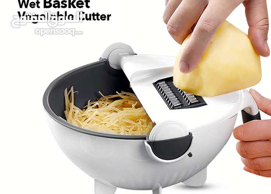All-In-One Chopper Strainer Multifunction Rotate The Vegetable Cutter Slicer