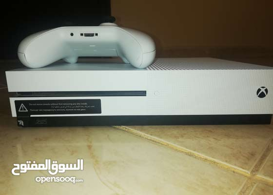 A clean Used Xbox One S available for immediate sale.