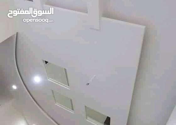 تركيب جميع أنواع ديكورات الجبس على الحائط والأسقف
