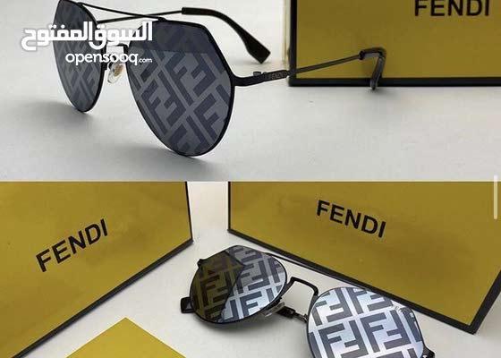 نظارات ماركه فندي درجه اولى صناعه ايطاليه شامل الشنطه وتوصيل مجاني
