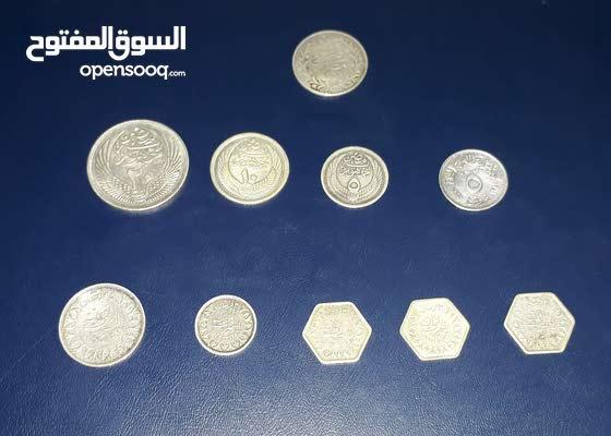 عملات فضة مصرية