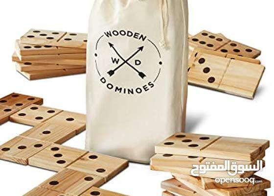 wooden dominoes for kids