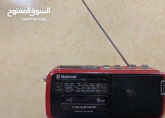 مسجل راديو ناشيونال National نظيف شغال