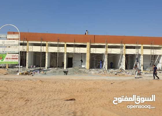 للبيع مبني محلات تجاري 4 محلات في مخطط الثريا علي شارع الزبير عجمان