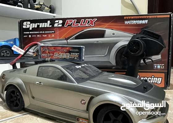 For sale drift rc car Hpi-racing Sprint 2 fllix as new with 2s battery