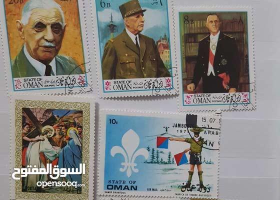 طوابع دولة عمان = سلطنة عمان