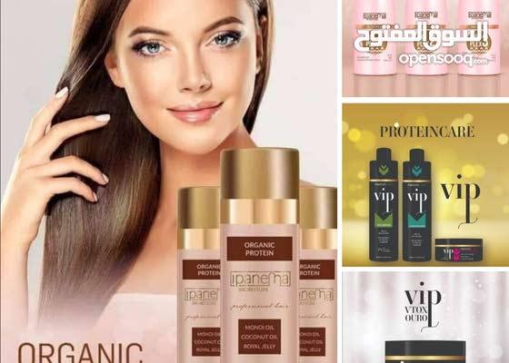 منتجات بروتين  عضوي لفرد الشعر