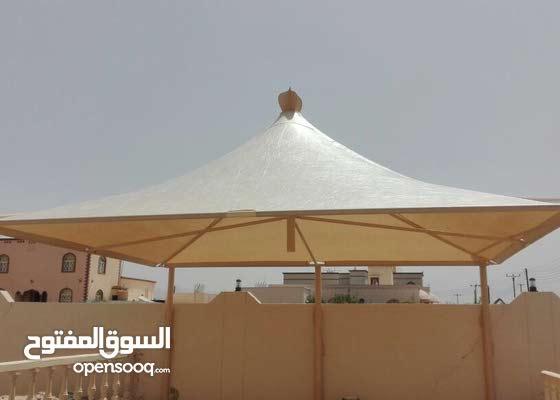 تركيب المظلات الخارجيه بجميع انواعها+البارجولات والجلسات