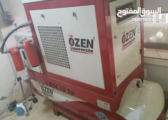 degital compressor heavy duty with air filtering system