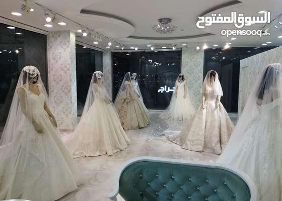 ديكورات محلات فساتين زفاف