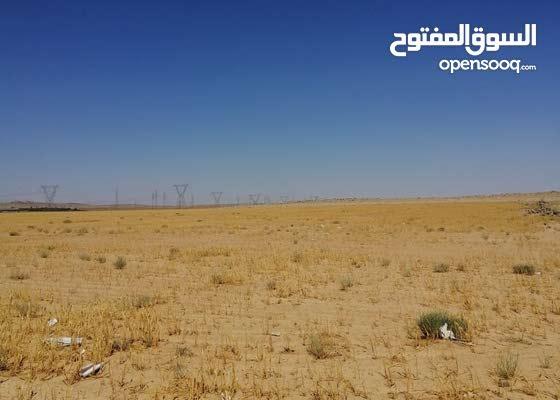 ارض للبيع في دير الحجر قريب جدًا من المطار متوفر فيها الميه