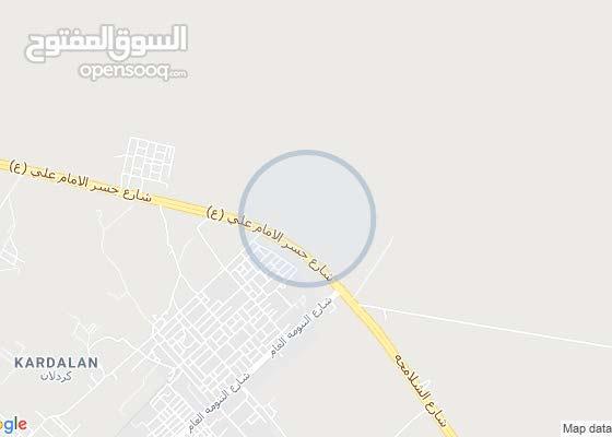 قطعة ارض في التنومه مقاطعة البيبان موظفين البلديه رقم القطعه 6303