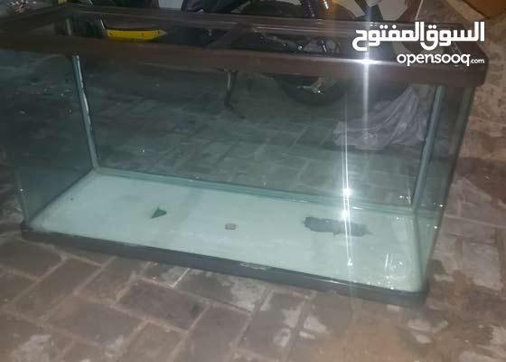 حوض سمك فول نضافه الطول .55 ..والعرض.مترو 5