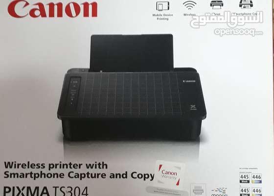 Canon PIXMA TS304 طابعة كانون مستعملة
