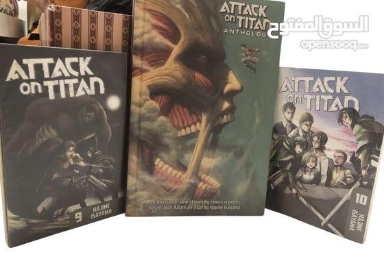 Attack on titan story books