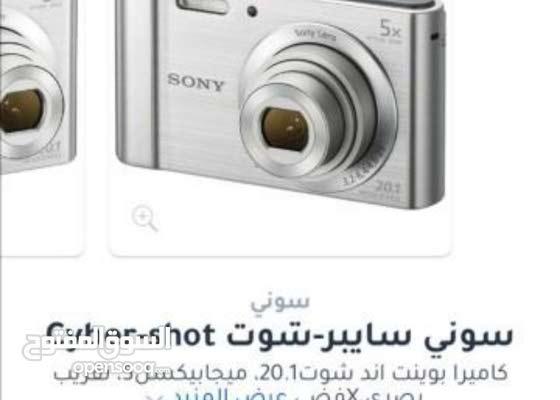 كاميرا سوني W800