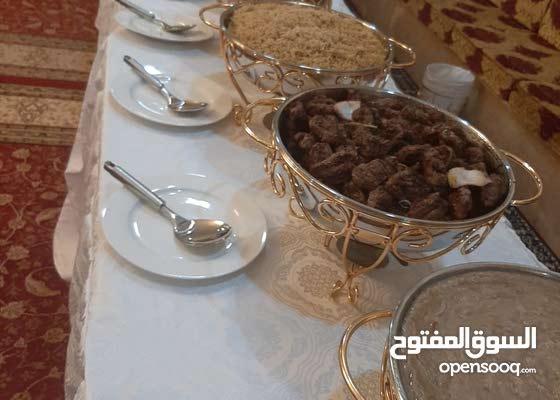 تاجير سخانات حفظ الطعام ولاطباق للحفلات  الاعراس والمناسبات باسعار مناسبه...