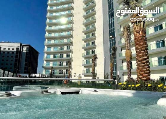 20061/ بقلب دبي شقق للايجار باطلالة علي برج العرب