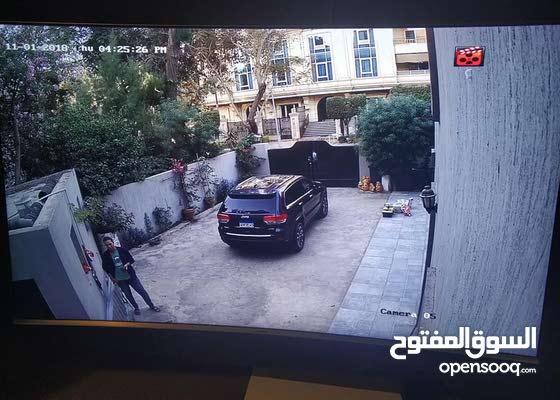 كاميرات مراقبة بدقة عالية