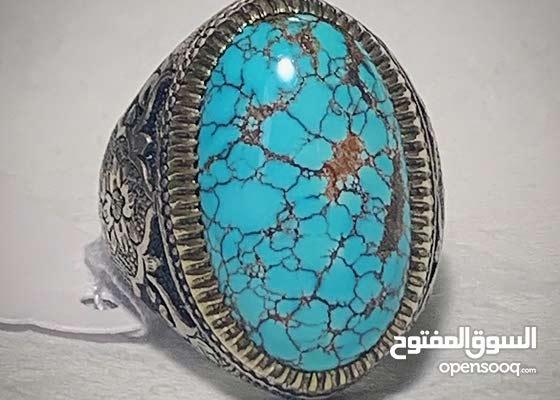 للبيع خاتم فيروز نيشابوري لأصحاب القلوب القوية