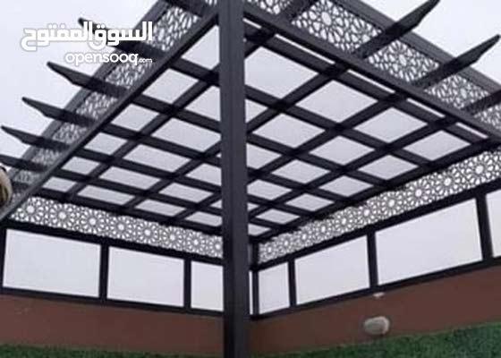 مضلات وسواتر برجولات خشبيه جلسات الرياض 0556058393