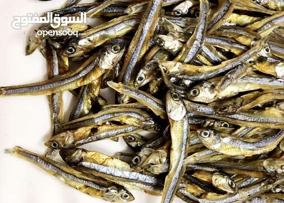 أسماك مجففة ( dry finish )